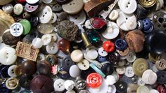 Clever uses for buttons, baubles and beads: Here are cool ways to reuse the contents of your grandmother's button box or your own bunch of shiny, pretty stuff you can't bear to throw out.