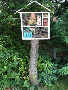 After pinning over 180 pictures of other people's bug hotels, here at last is my own contribution!