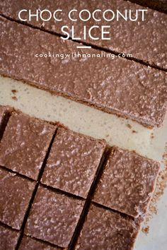 Chocolate Weetbix Slice, Chocolate Coconut Slice, Coconut Icing, Raw Food Recipes, Sweet Recipes, Baking Recipes, Dessert Recipes, Healthy Slice, Thermomix