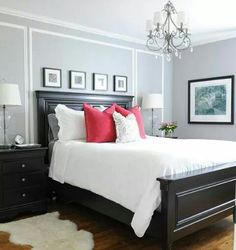New Bedroom Designs purple grey guest bedroom - bedroom designs - decorating ideas