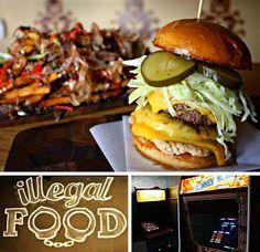 Illegal Food, Atlanta  Creative Burgers & BBQ