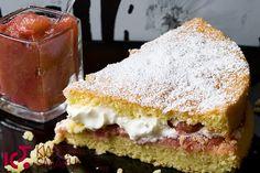 Ciasto z rabarbarem :) #rhubarb