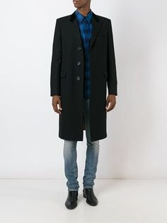 Saint Laurent classic Chesterfield coat