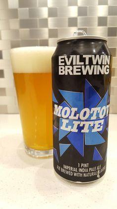 Eviltwin Brewing  Molotov Lite IPA
