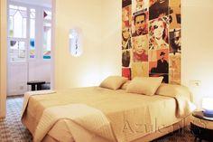 Cement tiles Bedroom - Verde 02 - Project van Designtegels.nl