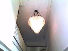 Chandelier Lighting Installation