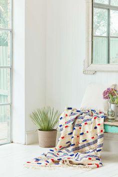 One-of-a-Kind Handira Blanket