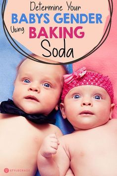 The Gender Test: Did You Know You Could Determine Your Baby's Gender Using Baking Soda? #women #pregnancy #baby