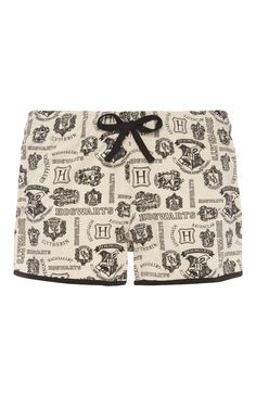 Primark - Harry Potter Hogwarts PJ Shorts