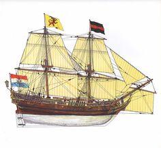 Brigantino olandese - 1660