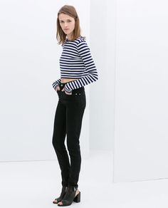 STRIPED TOP- ZARA