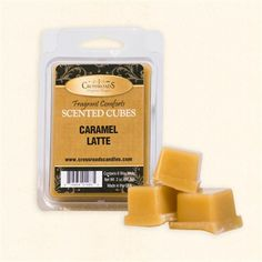 Caramel Latte Scented Wax Cubes
