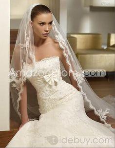 US $197.49 Gorgeous Trumpet/Mermaid Strapless Chapel Bowknot Bridal Wedding Dresses
