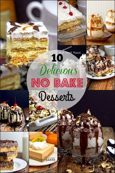 No-bake desserts that will keep your kitchen cool in the summer,