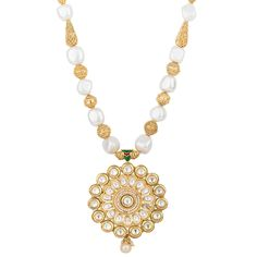 Ethnic White and Gold Pearl Necklace  #jewelry #ring #dearafashionaccessories #fashion #eveningbags #semipreciousjewelry #gorgeous #dearafashion #accessories #ethnic
