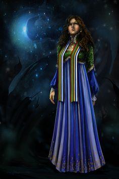 Egwene, the Amyrlin, in Tel'aran'rhiod