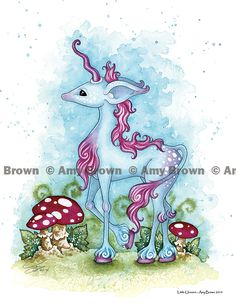 PRINTS-OPEN EDITION - Unicorns and Faery Horses - Amy Brown Fairy Art - The Official Gallery