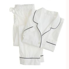 Shop the Vintage short-sleeve pajama set at J.Crew and see the entire selection of Women's Pajamas & Intimates. Find Women's clothing & accessories at J. J Crew Pajamas, Cute Pajamas, Comfy Pajamas, Cotton Sleepwear, Cotton Pyjamas, Lingerie Sleepwear, Lingerie Underwear, Cotton Lingerie, Nightwear