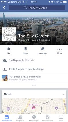 Sky garden NY