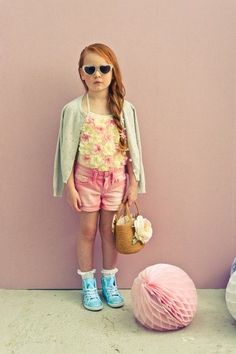 By junior magazine.co.ok #retro #pastel #flowers