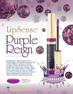 Purple Reign LipSense www.senegence.com/glamourmagic                                        ID #173749