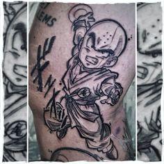 Armin Primig 🐙 (@mr_catatafish_tattoo) auf Instagram - Krillin Tattoo🤓🧡 dragonball Tattoo, Anime tattoo, Manga Tattoo Manga Tattoo, Tattoo On, Anime Tattoos, Tattoo Dragonball, Sketchy Tattoo, Leg Sleeves, Armin, Goku, Tattos