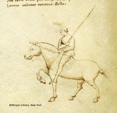 Il fior di battaglia / Fiore dei Liberi, MS M.383 fol. 3v - Images from Medieval and Renaissance Manuscripts - The Morgan Library & Museum