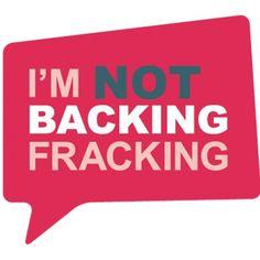 not backing fracking