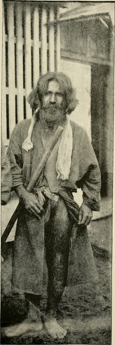 Aino, Abashiri, 1890