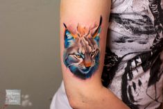 lynx by TattoosByCata