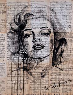 """Saatchi Online Artist Atelier Palluch; Painting, """"Marylin Monroe"""" #art"""