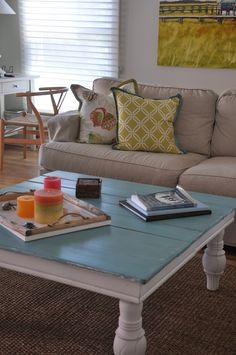 Southern Charm Style Coffee Table