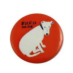 St Ives dog badge by Elaine Pamphilon