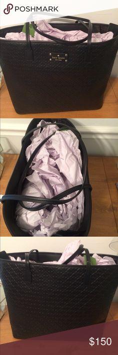 Kate Spade Margareta Penn Place Embossed Bag Black bag kate spade Bags Shoulder Bags