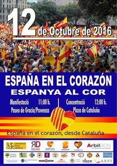 Fiesta Nacional de España y de la #Hispanidad en Barcelona