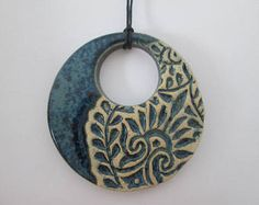 Jewelry OFF! blue ceramic pendant ceramic pendant necklace ethnic ceramic necklace pottery handmade bohemian pendant ceramic jewelry gift for girl Ceramic Necklace, Ceramic Pendant, Polymer Clay Necklace, Polymer Clay Pendant, Ceramic Jewelry, Ceramic Beads, Ceramic Clay, Clay Earrings, Pendant Jewelry
