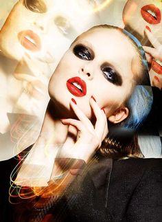 Photographer: Thom Kerr. Stylist: James Dykes. Model: Eva.