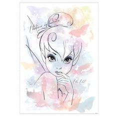 Tinkerbell I Believe in Fairies Wall Sticker Mural Decal Disney Fairy Tink Party Disney Kunst, Arte Disney, Disney Magic, Disney Art, Tinkerbell And Friends, Disney Fairies, Tinkerbell Disney, Images Disney, Disney Pictures