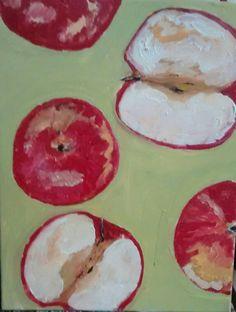 Apple#warm up paintings#pure fun