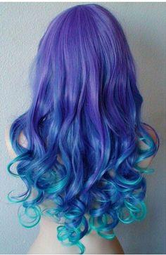 Multi color hair
