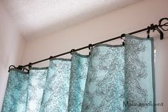 Decorate My Home, Part 1 – Simple Curtains   Make It and Love It