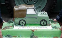 Cake for the 65th Anniversary of Land Rover