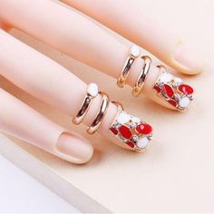 Rhinestones & Decorations Beauty & Health High Quality New Fashion Charm Japanese Nail Jewelry Alloy Austrian Diamond Gem Pearl Nail Rhinestone Diy Nail Art Decoration