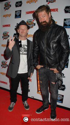 Corey Taylor and James Root @ Metal Hammer awards 2013