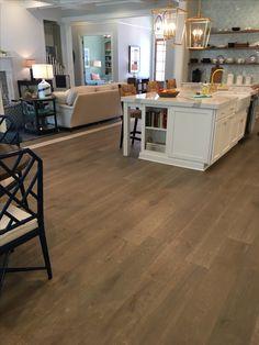 Wood Tile Floors, Flooring, Kitchen, Home Decor, Cuisine, Kitchens, Hardwood Floor, Interior Design, Home Interior Design