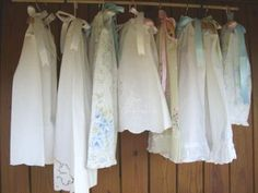 Pillow case dresses for little girls. What a great way to use spare pillow cases!