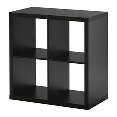 KALLAX Shelving unit, black-brown black-brown 30 3/8x30 3/8