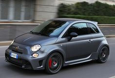 The Fiat Abarth 695 Biposto is the first street-legal production car available with a race-style, H-pattern dog-ring gearbox.