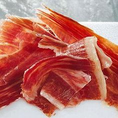 Jamon iberico de bellota - the finest ham in the world, made from acorn-fed Spanish pigs and matured for up to three years.