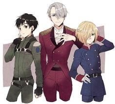 They look so good in uniform
